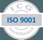 Die ICG DIN EN ISO 9001:2015 Zertifizierung der SDG Kunststoffe GmbH & Co. KG.
